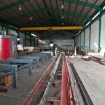 Beam processing line